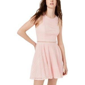 NWT City Studio Womens Lace Eyelet Party Dress, 15